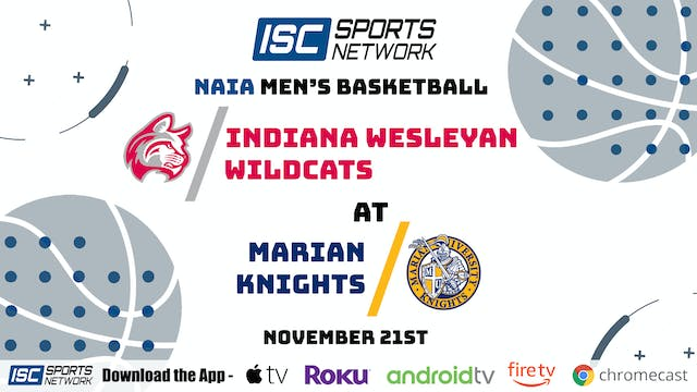 2020 MBB Indiana Wesleyan at Marian