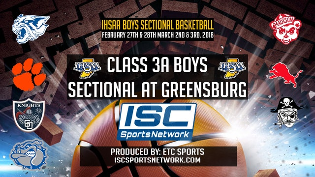 2018 BBB IHSAA Greensburg vs Franklin County