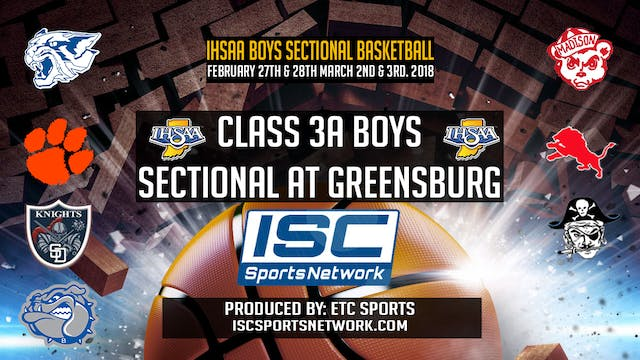 2018 BBB IHSAA Greensburg vs Franklin...