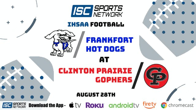 2020 FB Frankfort at Clinton Prairie