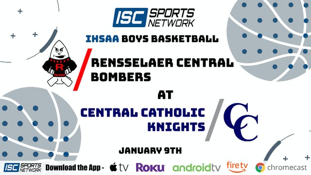 2021 BBB Rensselaer at Central Catholic 1/9