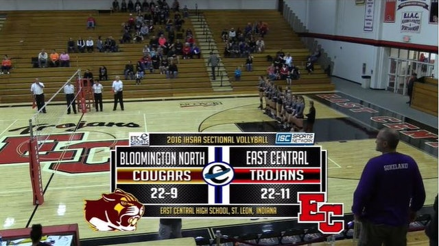 2016 IHSAA GVB Bloomington North vs East Central 10/22