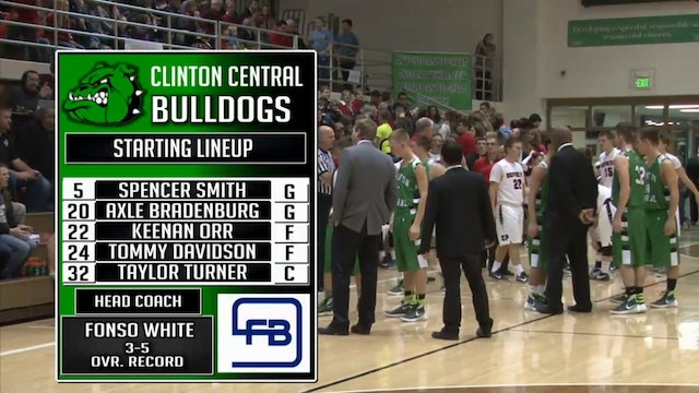 2015 BBB CCHT Clinton Prairie vs Clinton Central