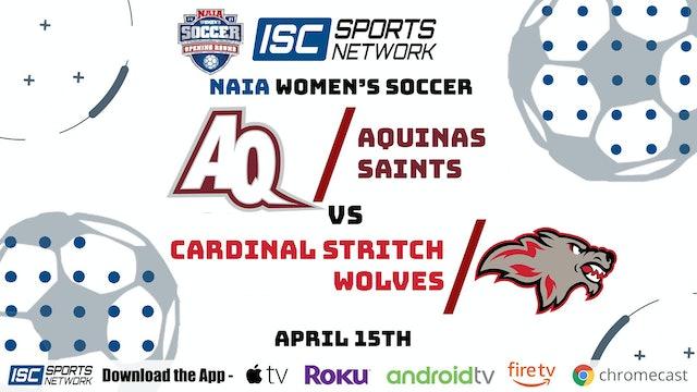 2021 WS Aquinas vs. Cardinal Stritch 4/15