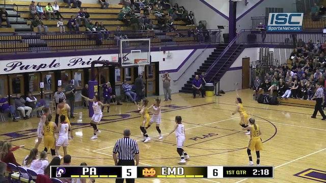 2018 IHSAA GBB Paoli vs Evansville Mater Dei