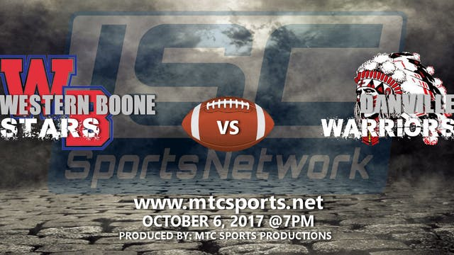 2017 FB Western Boone at Danville