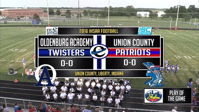 2016 FB Oldenburg at Union County