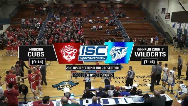 2018 IHSAA Madison vs Franklin County