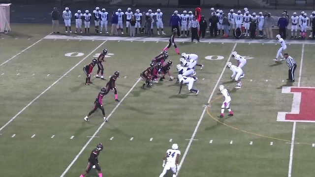2018 FB Ben Davis at North Central Thompson to Bingham TD