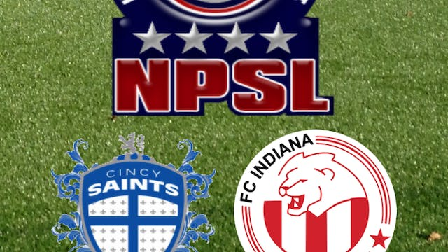 2015 NPSL Cincy Saints at FC Indiana
