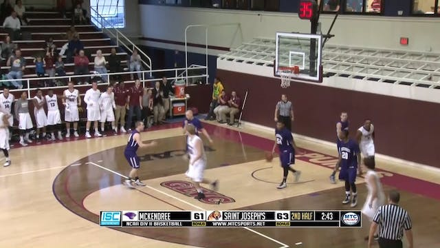 2015 Cam Vines dunk down the lane