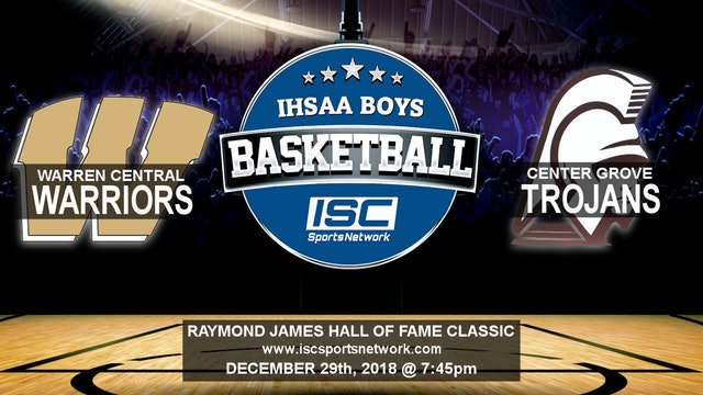 2018 HOF BBB Center Grove vs Warren Central