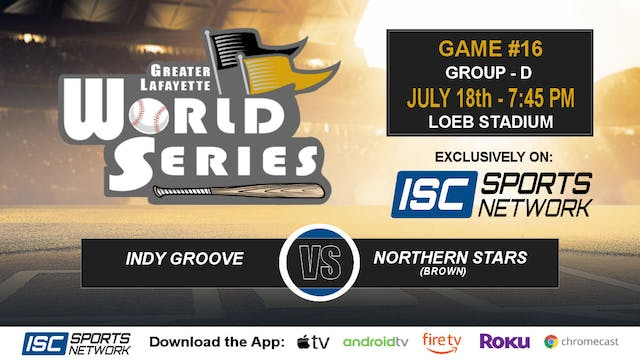 2019 GLWS G16 Indy Groove vs Northern...