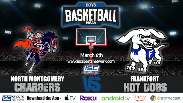 2020 IHSAA BBB North Montgomery vs Frankfort