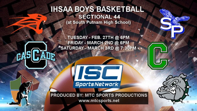 2018 IHSAA BBB Covenant Christian vs North Putnam