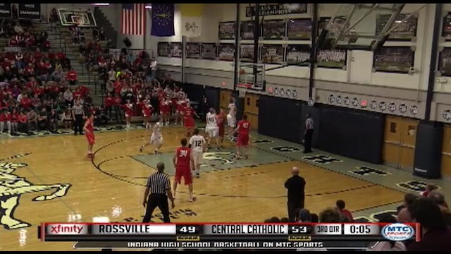 2014 Central Catholic's Jacob Barrett one legged buzzer beater