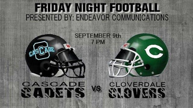 2016 FB Cascade at Cloverdale