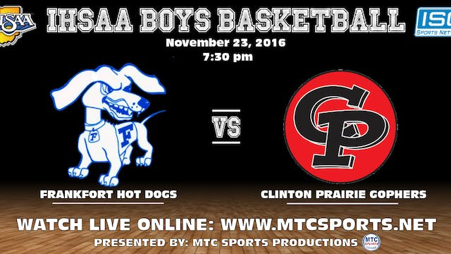 2016 BBB Frankfort at Clinton Prairie