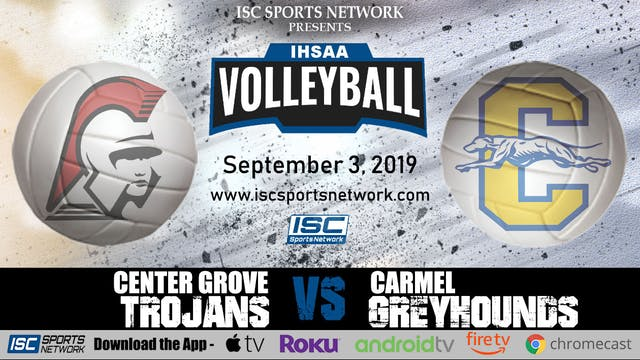 2019 VB Center Grove at Carmel