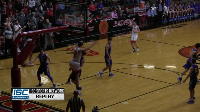 2019 IHSAA BBB Princeton vs Batesville dunk