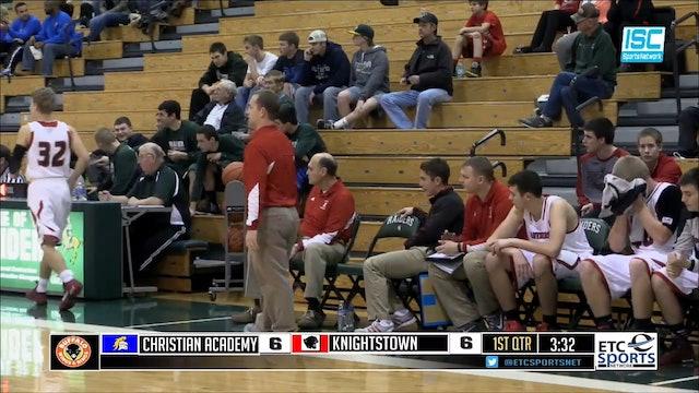 2014 BBB SRT Christian Academy vs Knightstown
