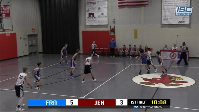 8th Grade Franklin County vs Jennings County Crosstown Classic