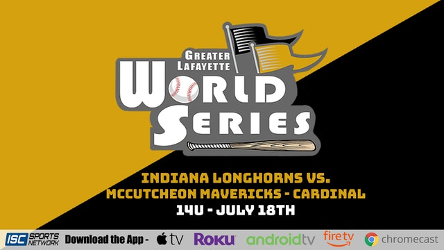 2021 GLWS BSB 14U McCutcheon Mavericks - Cardinal vs Indiana Longhorns 7/18