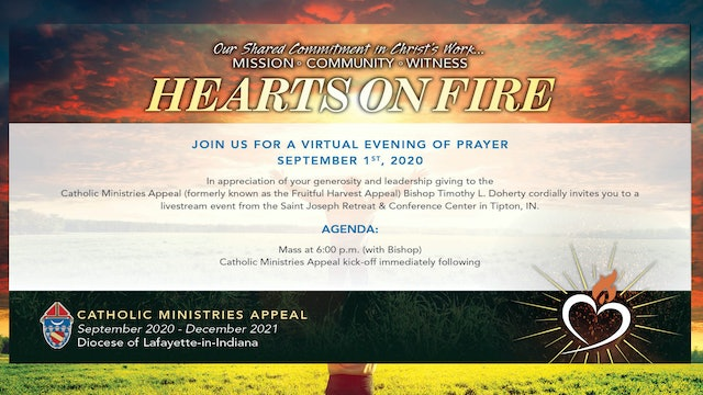 2020 Hearts on Fire Virtual Evening of Prayer