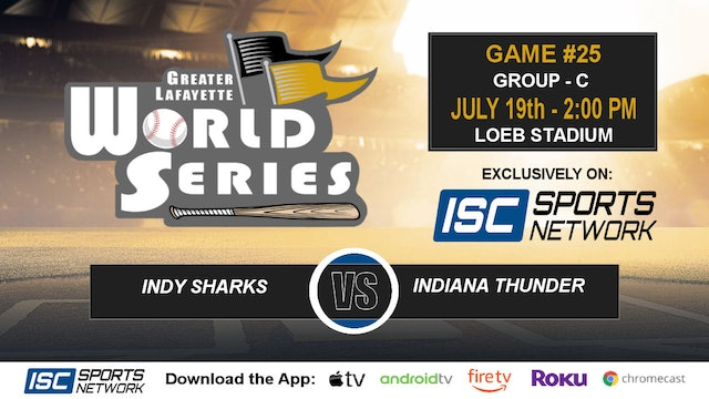 2019 GLWS G25 Indy Sharks vs Indiana Thunder