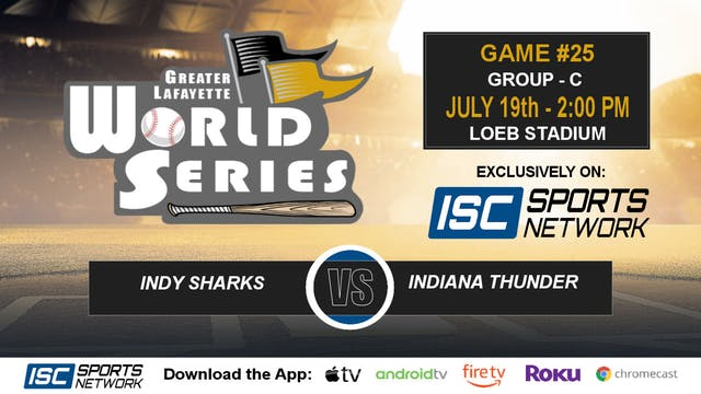2019 GLWS G25 Indy Sharks vs Indiana ...