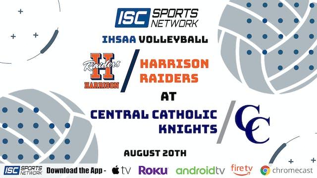 2020 VB Harrison at Central Catholic 8/20/20