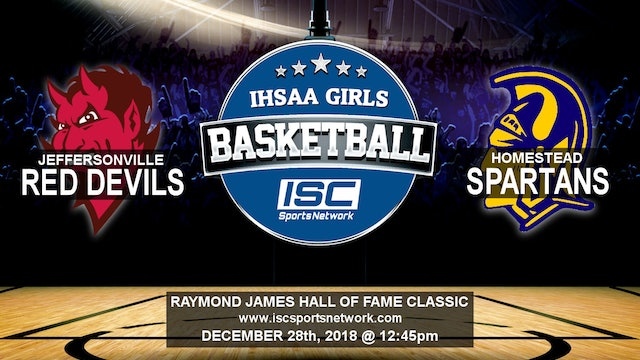 2018 HOF GBB Jeffersonville vs Homestead