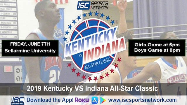 2019 Indiana All Stars vs Kentucky All Stars Full Day