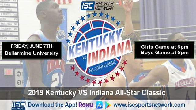 2019 Indiana All Stars vs Kentucky Al...