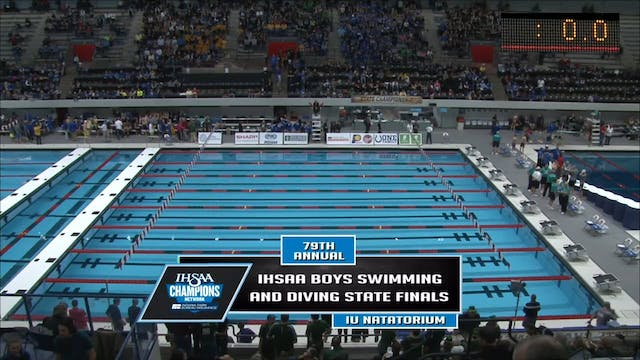 2016 IHSAA Boys Swimming and Diving S...