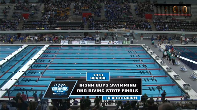 2016 IHSAA Boys Swimming and Diving State Finals