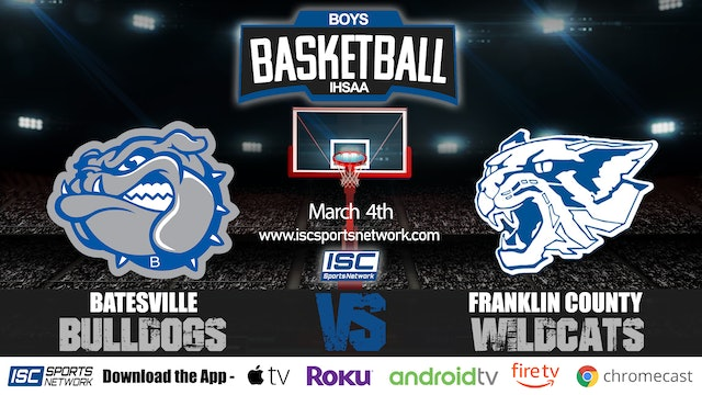 2020 IHSAA BBB Batesville vs Franklin County