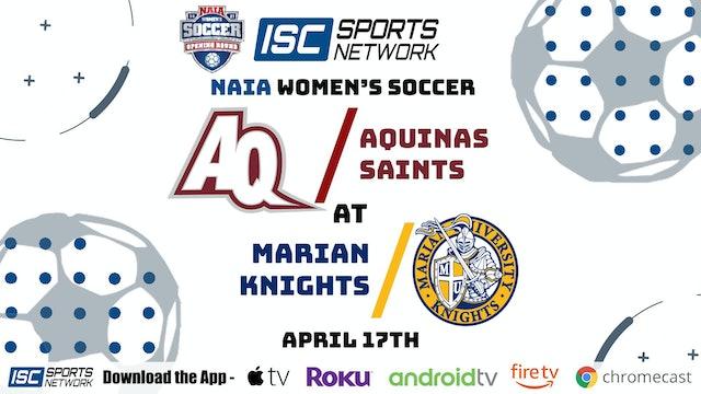 2021 WS Aquinas at Marian 4/17