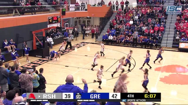 2019 IHSAA GBB Rushville vs Greensbur...