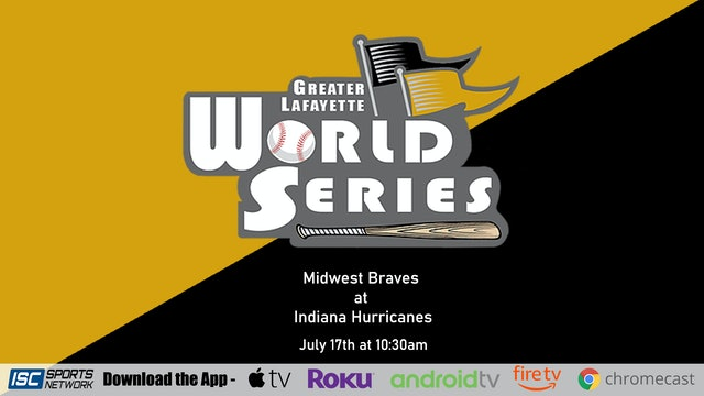 2020 GLWS Game 8 Midwest Braves vs Indiana Hurricanes