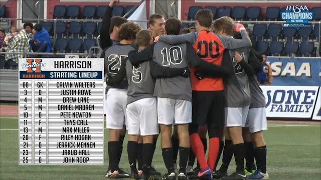 2017 IHSAA BS 3A Harrison vs Castle