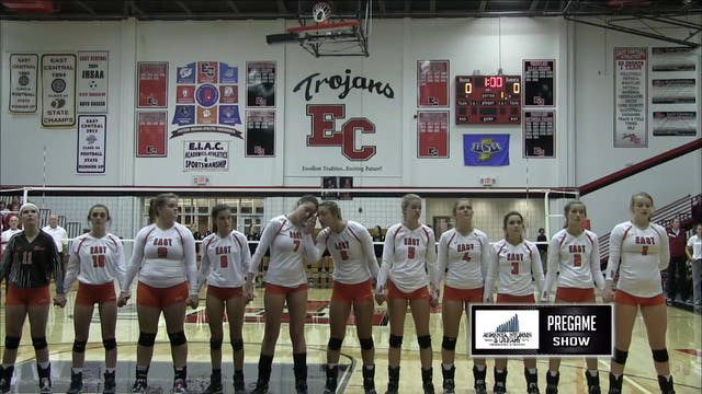 2016 IHSAA VB Columbus East vs Bloomi...