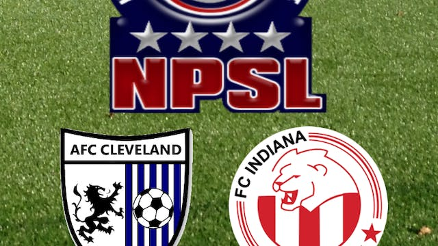 2015 NPSL AFC Cleveland at FC Indiana