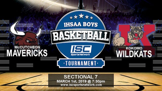 2019 IHSAA BBB McCutcheon vs Kokomo