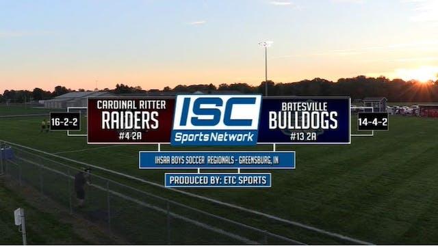 2017 IHSAA BS Indianapolis Ritter vs ...