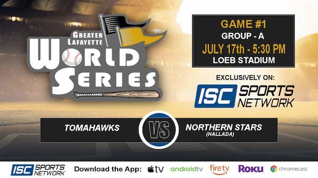2019 GLWS G1 Tomahawks vs Northern Stars Hallada
