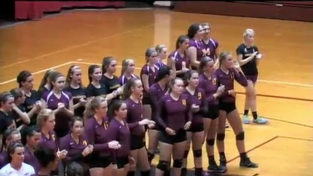 2014 VB McCutcheon at Lafayette Jeff