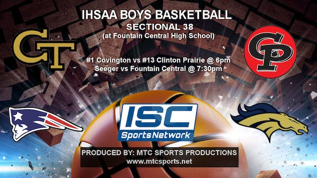 2018 IHSAA BBB Covington vs Clinton P...