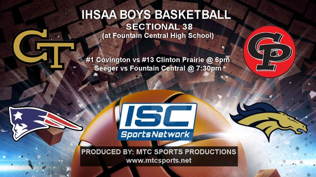 2018 IHSAA Covington vs Clinton Prairie