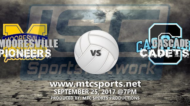 2017 VB Mooresville at Cascade